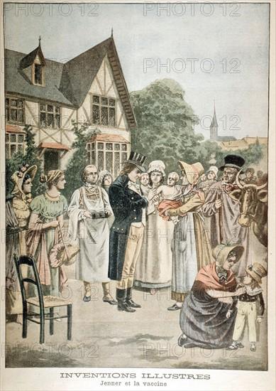 Edward Jenner (1749-1823), medecin britannique