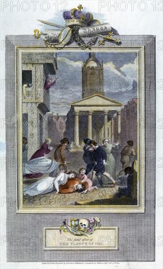 Plague of London, 1665