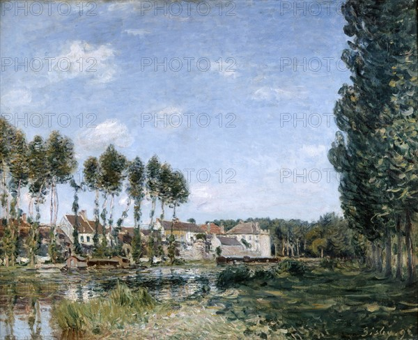 Sisley, Moret, bords du Loing