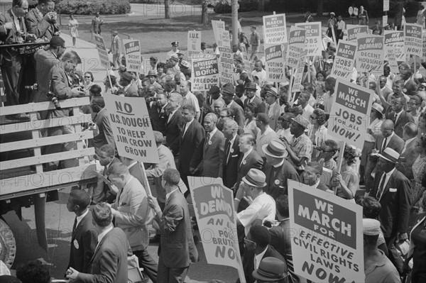 Civil rights march on Washington, 1968