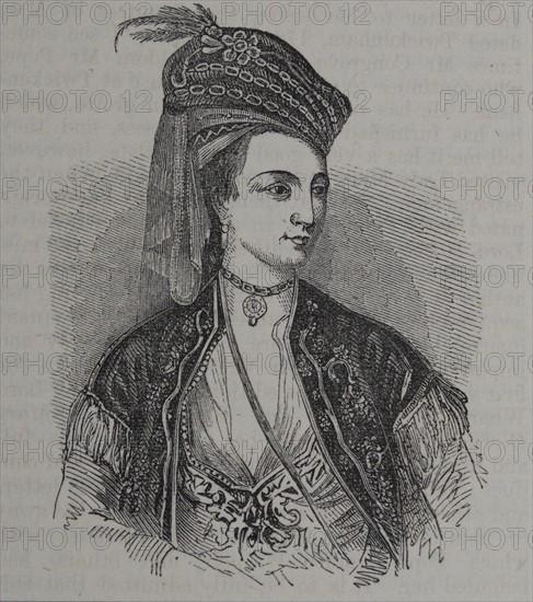 Mary Wortley Montgu 1689 - 1762.