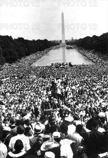 La Marche vers Washington (Août 1963)