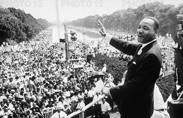 Martin Luther King, 28 août 1963
