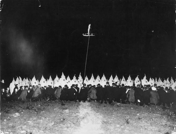 Rassemblement du Ku-Klux-Klan