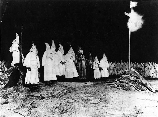 Assemblée du Klu Klux Klan dans le Maryland