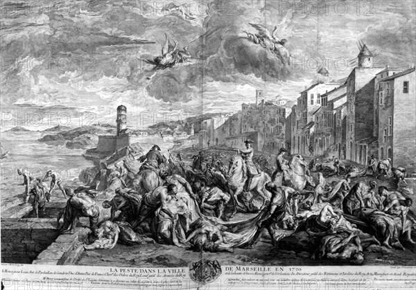 1720, La Grande Peste à Marseille