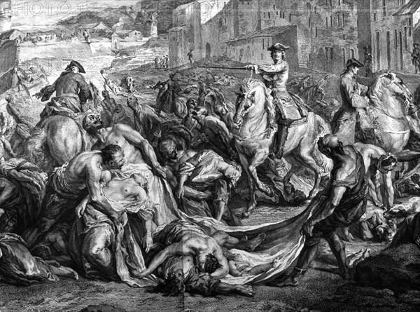 1720. La Grande Peste à Marseille
