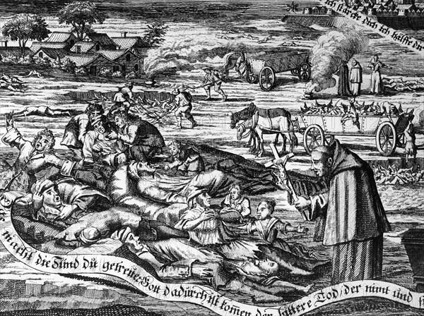 La Grande Peste à Marseille en 1720