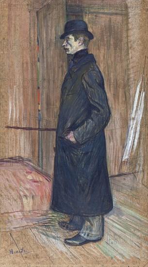Gaston Bonnefoy, 1891. Artist: Toulouse-Lautrec, Henri, de (1864-1901)
