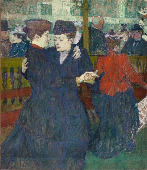 Moulin Rouge, 1882.