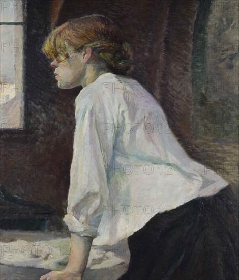 La Blanchisseuse, 1886-1887.