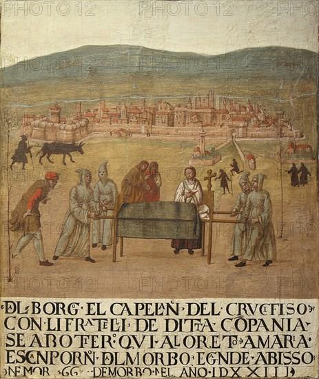 Pilgrimage of the Compagnia del Crocifisso to Loreto, First Half of 16th cen..