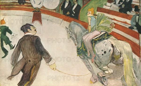 'Equestrienne (At the Cirque Fernando)', 1888, (1952). Creator: Henri de Toulouse-Lautrec.