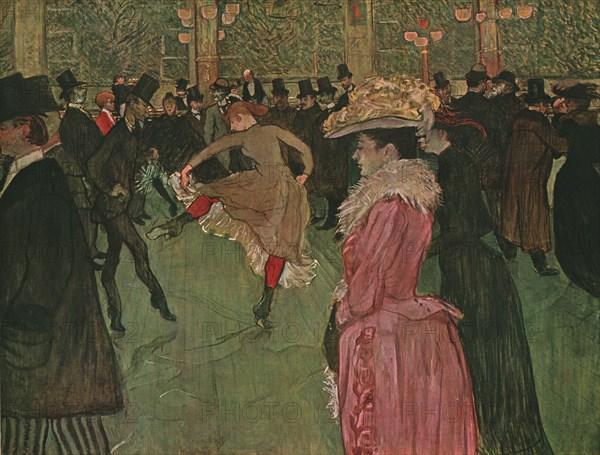 'At the Moulin Rouge: The Dance', 1890, (1952). Creator: Henri de Toulouse-Lautrec.