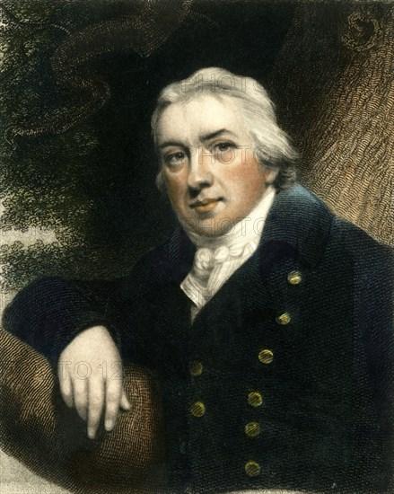 Edward Jenner, late 18th-early 19th century, (c1833). Creator: Edward Scriven.