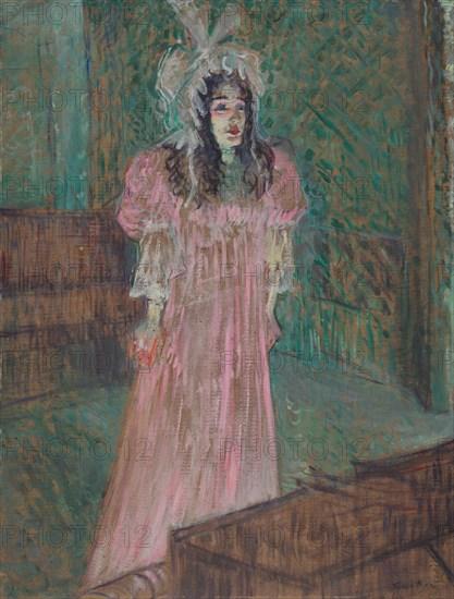 May Belfort, 1895. Creator: Henri de Toulouse-Lautrec (French, 1864-1901).