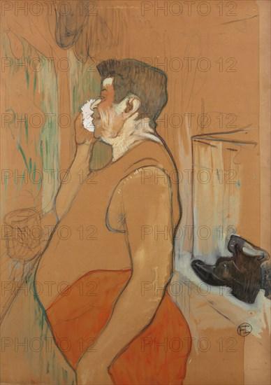 Monsieur Caudieux, acteur de café concert, 1896. Creator: Toulouse-Lautrec, Henri, de (1864-1901).