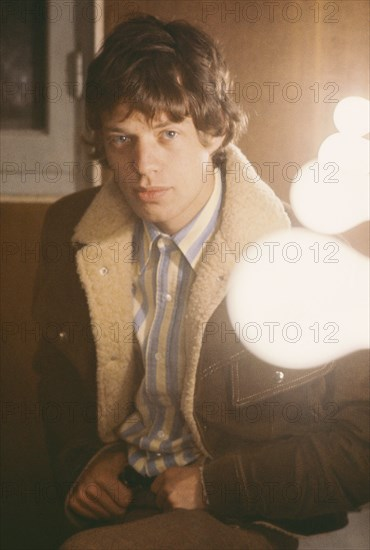Mick Jagger, février 1966