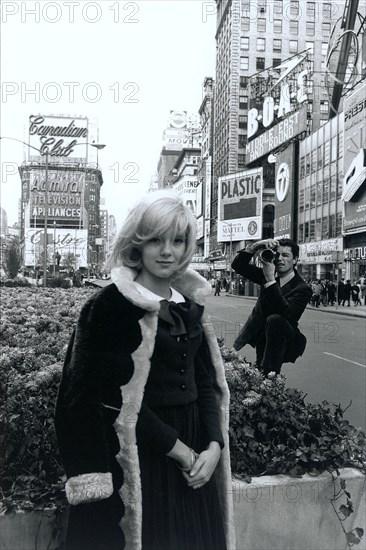 Sylvie Vartan à New York