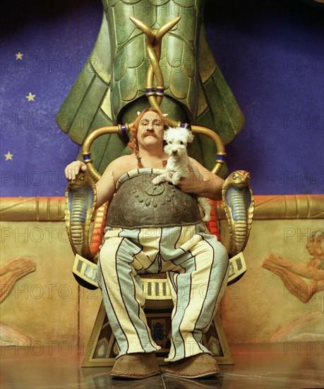 Gérard Depardieu dans Astérix & Obélix : Mission Cléopâtre