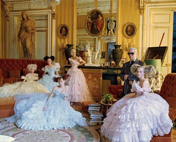 Karl Lagerfeld, 1995