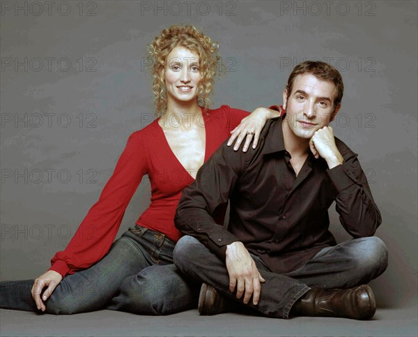 Alexandra Lamy et Jean Dujardin