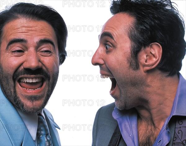 José Garcia et Gilbert Melki