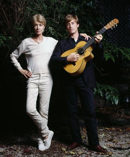 Françoise Hardy et Thomas Dutronc