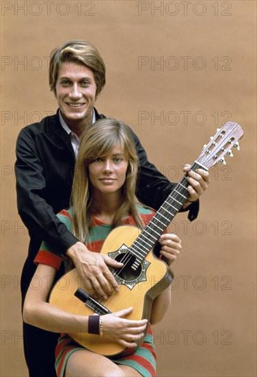 Jacques Dutronc et Françoise Hardy, 1967