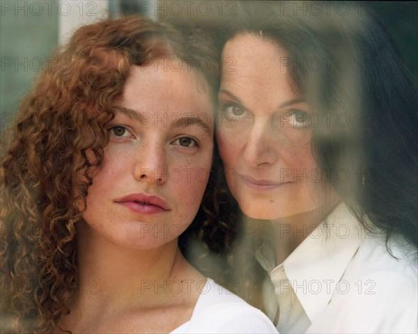 Diane von Furstenberg et sa fille Tatiana