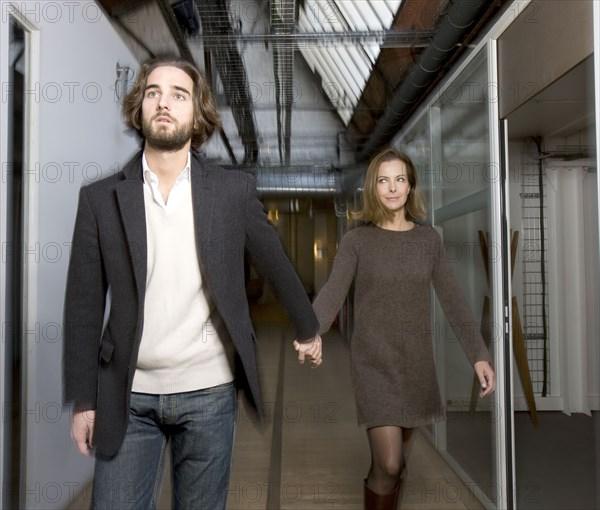 Carole Bouquet et son fils Dimitri Rassam