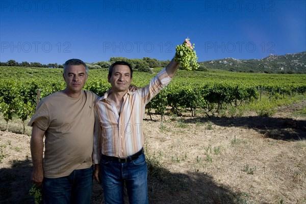 Joël Rossi et Jean Curallucci