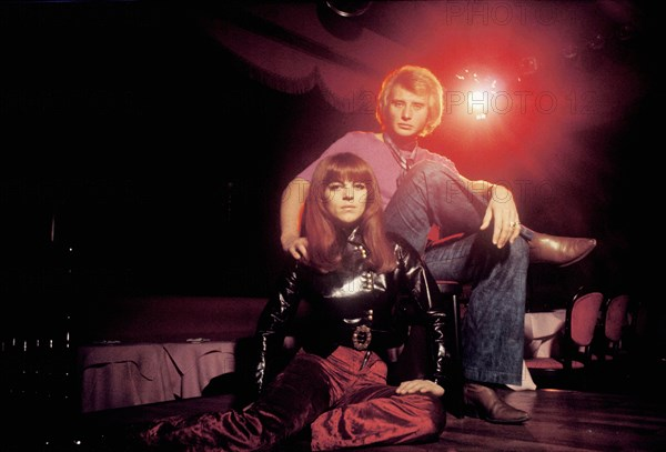 Johnny Hallyday et Nicoletta