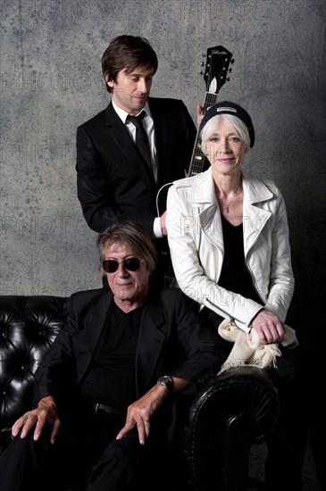 Françoise Hardy, Jacques et Thomas Dutronc