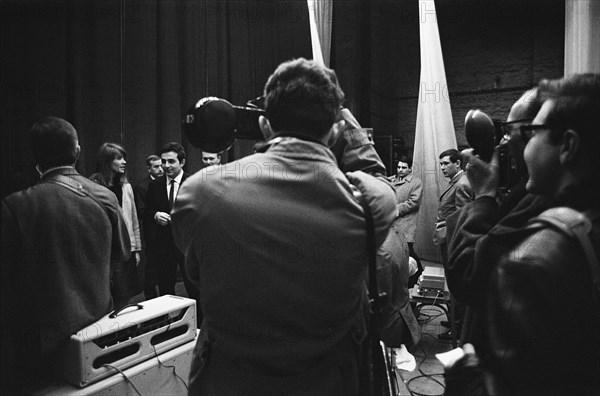 Françoise Hardy et Richard Anthony, 1963