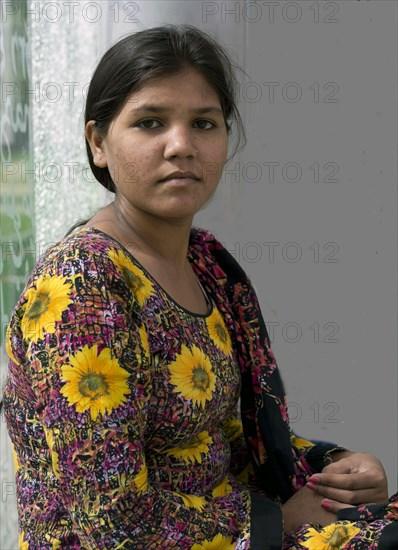 La fille d'Asia Bibi, femme pakistanaise condamnée à mort pour blasphème