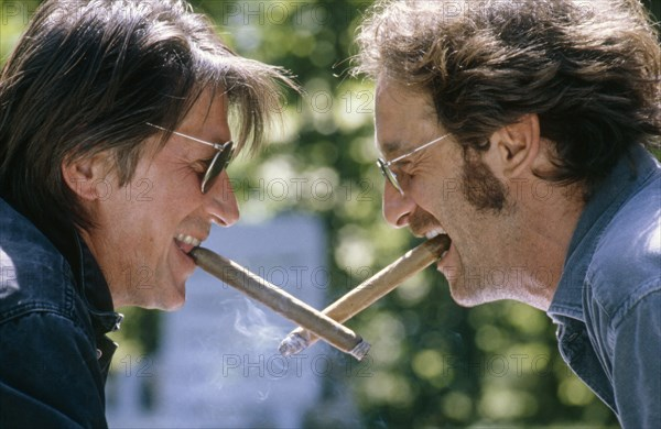 Vincent Lindon et Jacques Dutronc