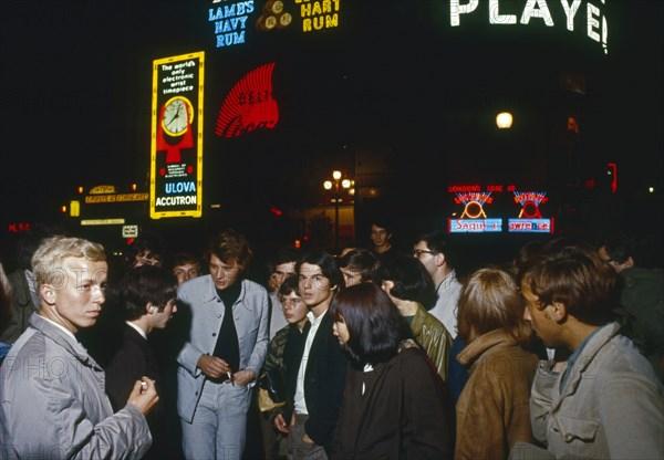 Johnny Hallyday à Londres