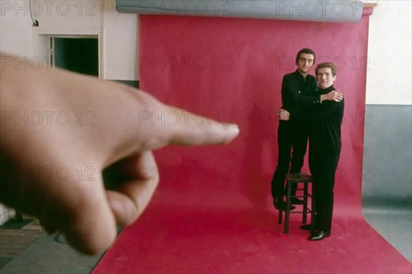 Eddy Mitchell et Dick Rivers