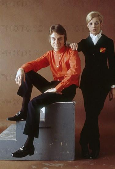 Claude François et Liliane Saint-Pierre, 1968
