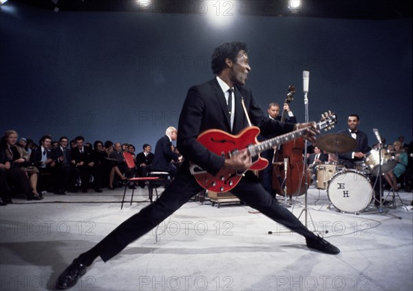 Chuck Berry en concert à Atlanta