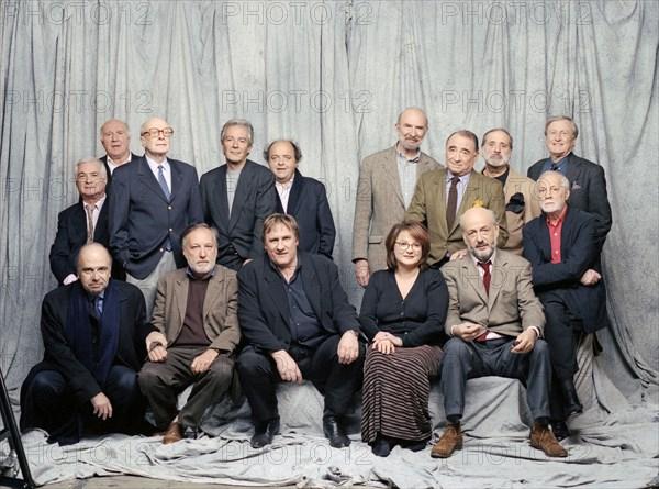 """Equipe du film """"Les acteurs"""""""