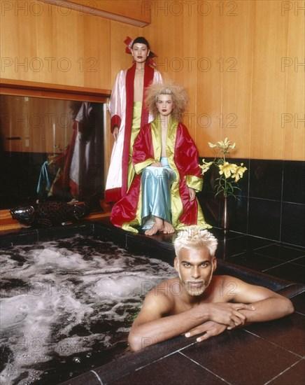 Mannequins en Kenzo