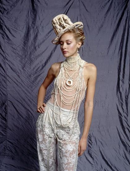 Chrystèle Saint-Louis Augustin en Dior Haute Couture