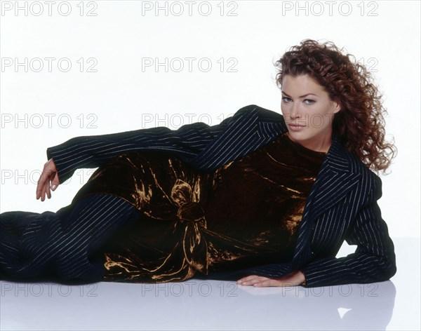 Carre Ottis habillée en Jean-Paul Gaultier