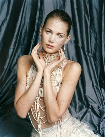 Karin Saby en Dior Haute Couture