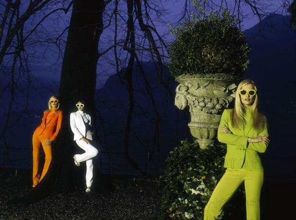 Mannequins en Versace