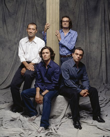 Frédéric Beigbeder, Yann Moix, Antoine Audouard et Christophe Ono-dit-Biot