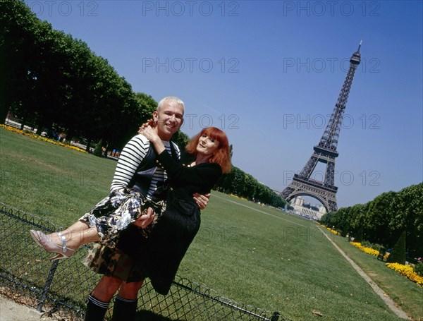 Jean-Paul Gaultier et Sonia Rykiel