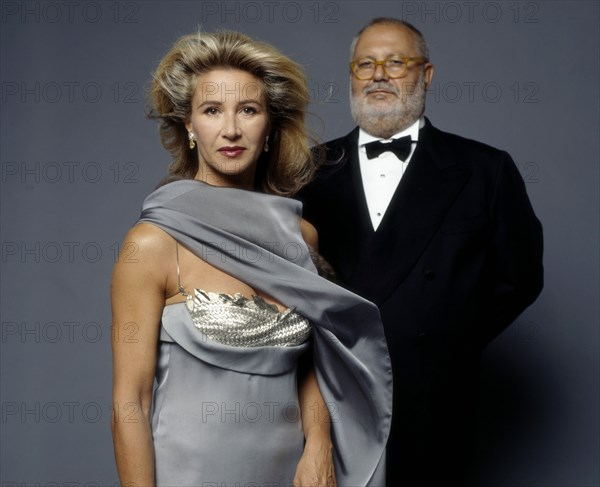 Gianfranco Ferré et Corinne Ricard, 1998